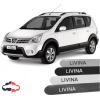 Friso Lateral Personalizado Nissan Livina