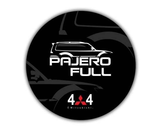 Capa de Estepe Mitsubishi Pajero Full - CS-20 (Alfabetoauto) por alfabetoauto.com.br