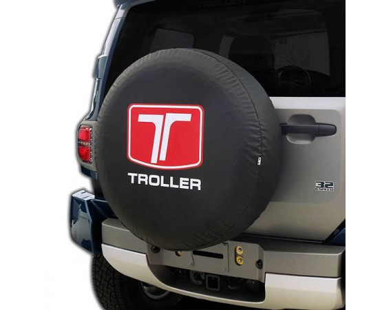 Capa de Estepe Troller T4 - CS-26 (Alfabetoauto) por alfabetoauto.com.br