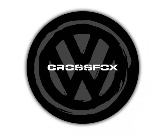 Capa de Estepe Volkswagem Crossfox - CS-57 (Alfabetoauto) por alfabetoauto.com.br