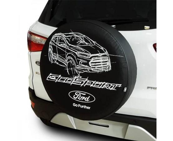 Capa de Estepe Ford EcoSport - CS-58 (Alfabetoauto) por alfabetoauto.com.br