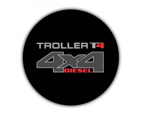 Capa de Estepe Troller T4 - CS-69 (Alfabetoauto) por alfabetoauto.com.br