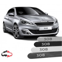 Friso Lateral Personalizado Peugeot 308