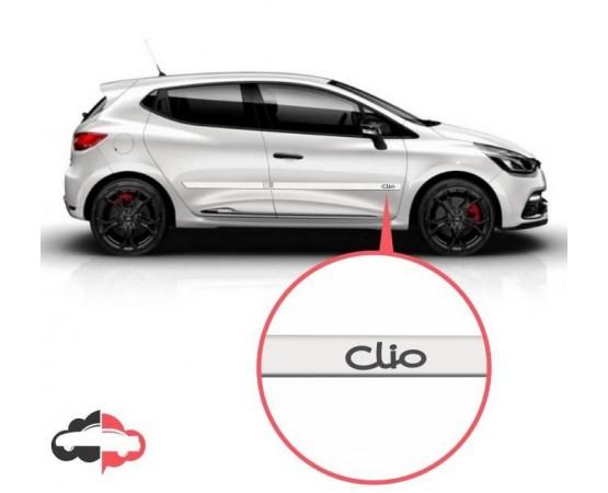 Friso Lateral Personalizado Renault Clio (Alfabetoauto) por alfabetoauto.com.br