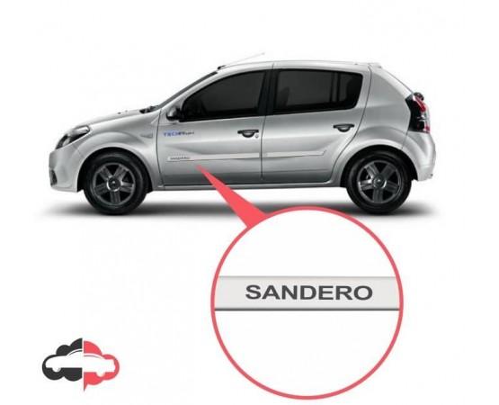 Friso Lateral Personalizado Renault Sandero