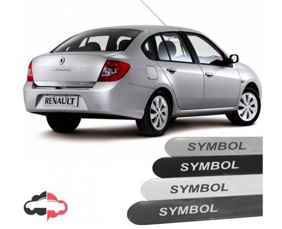 Friso Lateral Personalizado Renault Symbol (Alfabetoauto) por alfabetoauto.com.br