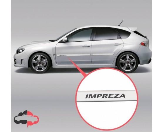 Friso Lateral Personalizado Subaru Impreza (Alfabetoauto) por alfabetoauto.com.br
