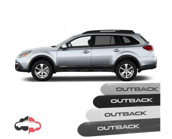 Friso Lateral Personalizado Subaru Outback (Alfabetoauto) por alfabetoauto.com.br