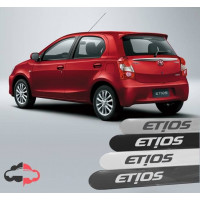 Friso Lateral Personalizado Toyota Etios