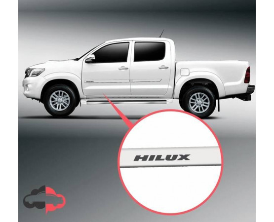 Friso Lateral Personalizado Toyota Hilux