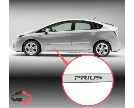 Friso Lateral Personalizado Toyota Prius (Alfabetoauto) por alfabetoauto.com.br