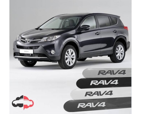 Friso Lateral Personalizado Toyota RAv4 (Alfabetoauto) por alfabetoauto.com.br