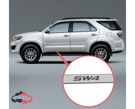 Friso Lateral Personalizado Toyota SW4 (Alfabetoauto) por alfabetoauto.com.br
