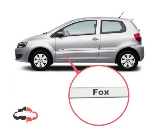 Friso Lateral Personalizado Volkswagen Fox 4 portas (Alfabetoauto) por alfabetoauto.com.br