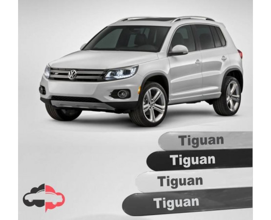 Friso Lateral Personalizado Volkswagen Tiguan (Alfabetoauto) por alfabetoauto.com.br