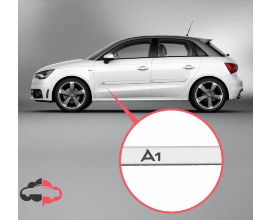 Friso Lateral Personalizado Audi A1 (Alfabetoauto) por alfabetoauto.com.br