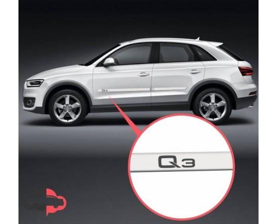 Friso Lateral Personalizado Audi Q3 (Alfabetoauto) por alfabetoauto.com.br