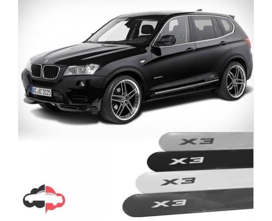 Friso Lateral Personalizado BMW X3 (Alfabetoauto) por alfabetoauto.com.br