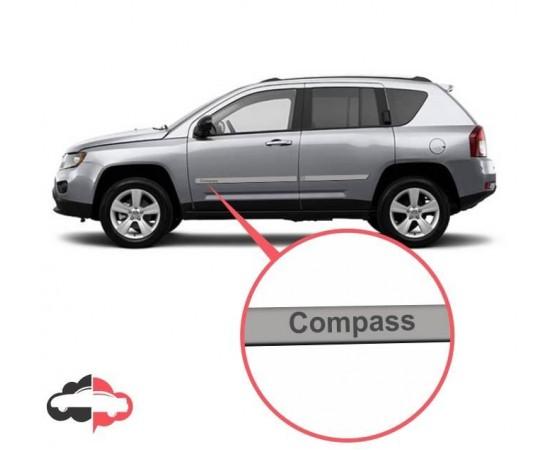 Friso Lateral Personalizado Jeep Compass