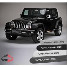 Friso Lateral Personalizado Jeep Wrangler