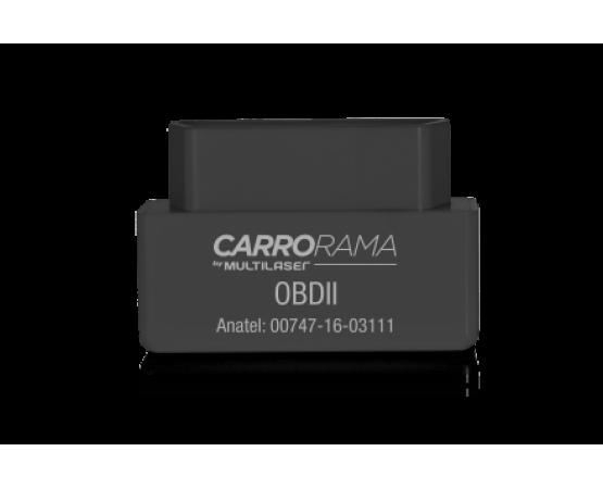 Scanner Automotivo Bluetooth Obdii Carrorama By Multilaser Au205 (MULTILASER) por alfabetoauto.com.br