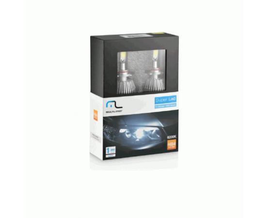 Lampada Super Led Multilaser Hb4 12V 30W 6200K - AU831 (MULTILASER) por alfabetoauto.com.br