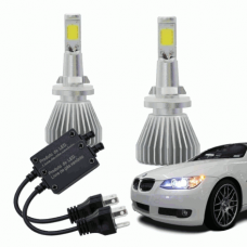 Lampadas Automotiva Multilaser Super Led H27 12V 30W 6200K - AU829