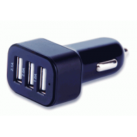 Carregador Automotivo Multilaser com 3 Saídas USB 3.1A mini/micro/iphone 4/5 CB074