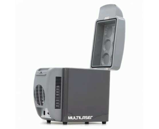 Mini Geladeira Cooler Multilaser Automotivo 7 litros 12V - TV008 (MULTILASER) por alfabetoauto.com.br