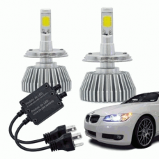 Kit Lâmpada Super LED Automotiva Multilaser H4 - 12V - 6200K - 40 Watts - AU825
