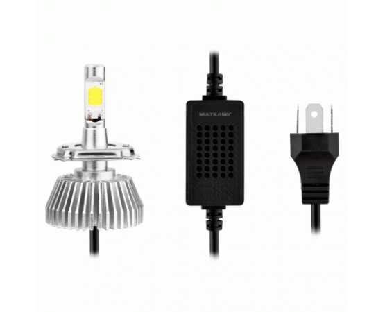 Lampadas Automotiva Multilaser Super Led H3 12V 55W 6200K - AU824