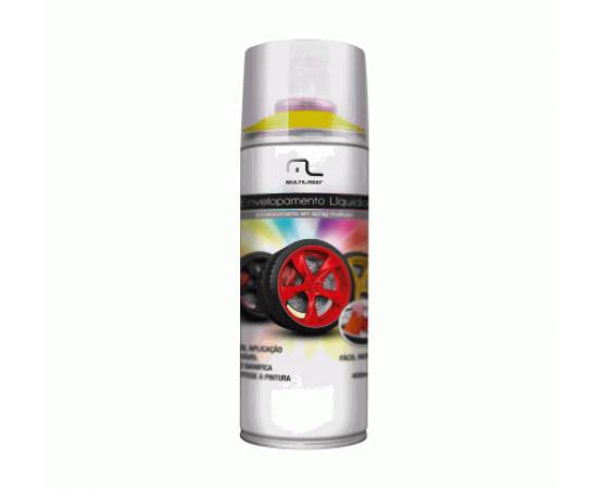 Spray Envelopamento Liquido Amarelo Fluorescente 400ML Multilaser AU427 (MULTILASER) por alfabetoauto.com.br
