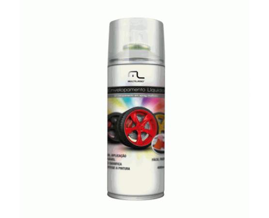 Envelopamento Líquido Branco Fosco em Spray - 400ml - Mutlilaser AU421 (MULTILASER) por alfabetoauto.com.br