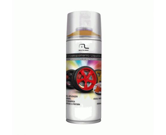 Spray de Envelopamento Líquido Multilaser 400 ML Dourado AU422 (MULTILASER) por alfabetoauto.com.br