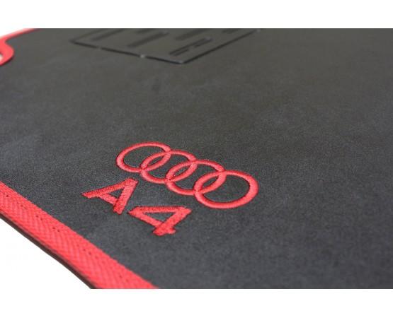 Tapete Audi A4 Borracha (Alfabetoauto) por alfabetoauto.com.br