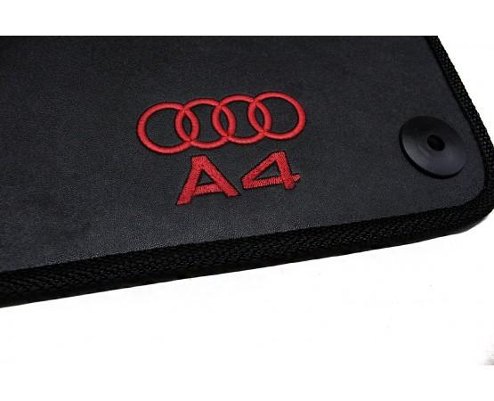 Tapete Audi A4 Sportback Borracha (Alfabetoauto) por alfabetoauto.com.br
