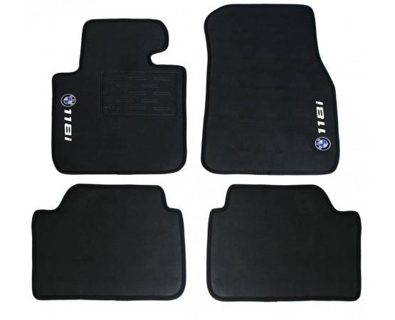 Tapete BMW 118i Borracha (Alfabetoauto) por alfabetoauto.com.br