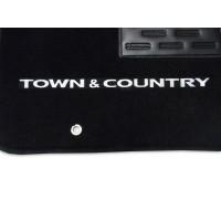 Tapete Chrysler Town & Country c/ Traseiro Inteiriço Luxo