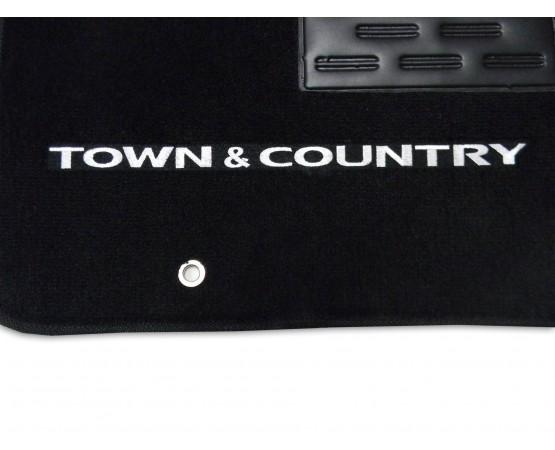 Tapete Chrysler Town & Country c/ Traseiro Inteiriço Luxo (Alfabetoauto) por alfabetoauto.com.br