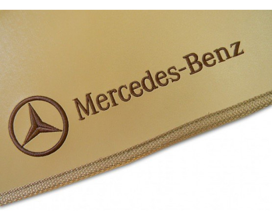 Tapete Mercedes Benz Classe C Traseiro Inteiriço Borracha (Alfabetoauto) por alfabetoauto.com.br