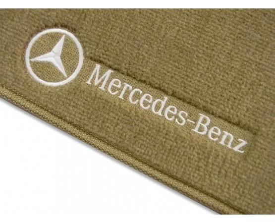 Tapete Mercedes Benz Classe C Traseiro Inteiriço Luxo