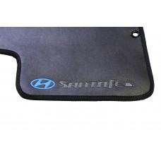 Tapete Hyundai Santa Fe Traseiro Inteiriço Borracha