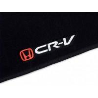Tapete Honda CR-V Dianteiro e Traseiro Inteiriços Luxo