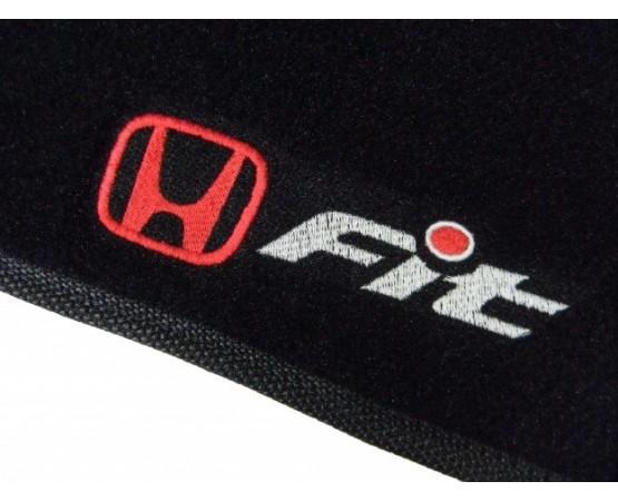 Tapete Honda Fit Luxo (Alfabetoauto) por alfabetoauto.com.br