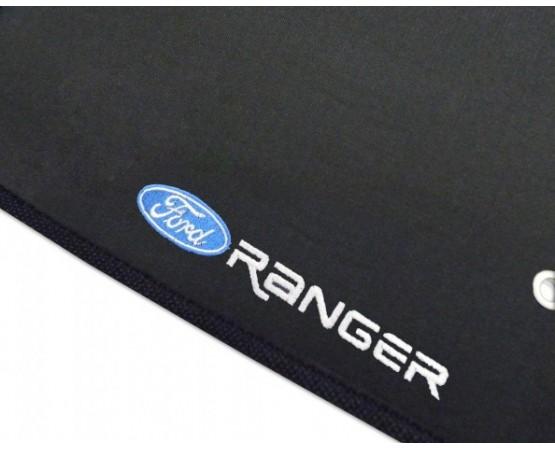 Tapete Ford Ranger Até 2015 Cabine Dupla Borracha (Alfabetoauto) por alfabetoauto.com.br