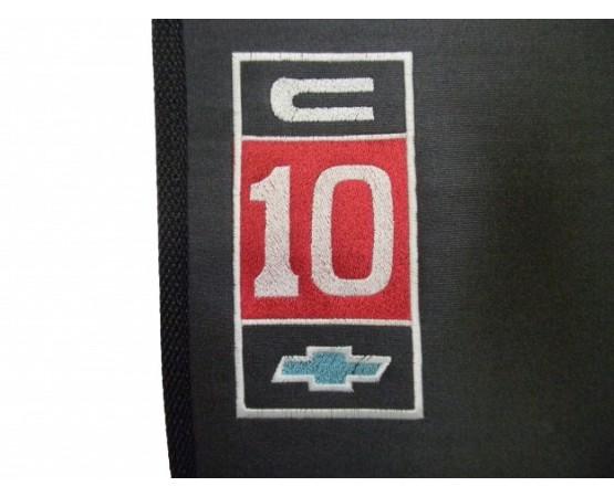 Tapete Chevrolet C10 Inteiriço Borracha (Alfabetoauto) por alfabetoauto.com.br