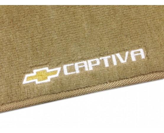 Tapete Chevrolet Captiva Traseiro Inteiriço Luxo (Alfabetoauto) por alfabetoauto.com.br