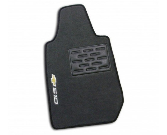 Tapete Chevrolet S10 Cabine Simples Luxo (Alfabetoauto) por alfabetoauto.com.br