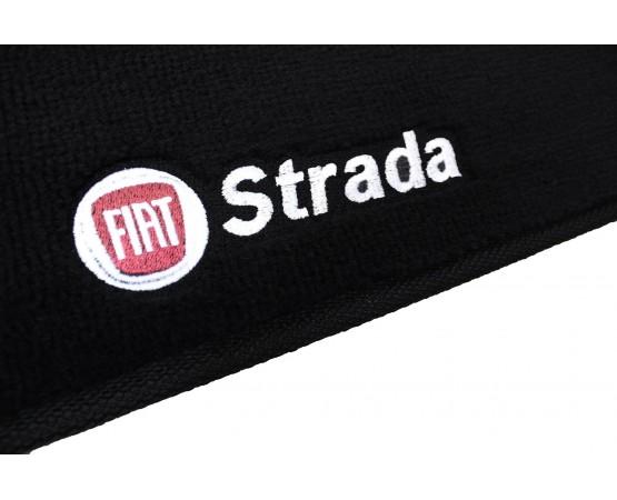 Tapete Fiat Strada Cabine Dupla Luxo (Alfabetoauto) por alfabetoauto.com.br