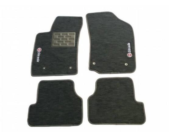 Tapete Fiat Strada Cabine Estendida Luxo (Alfabetoauto) por alfabetoauto.com.br